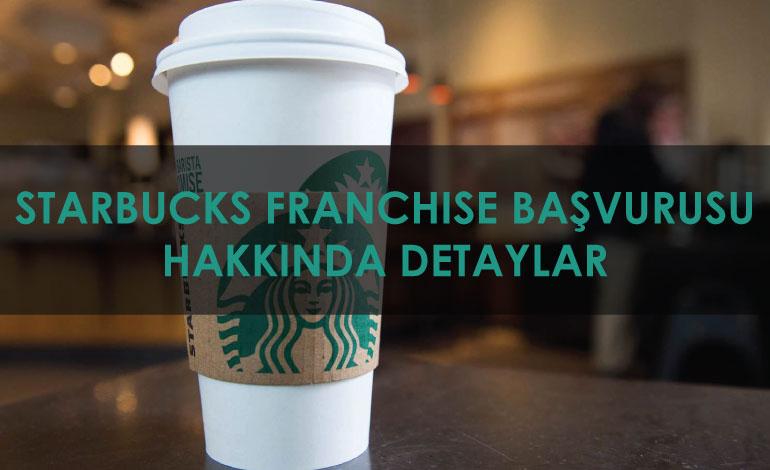 Starbucks Franchise İşlemleri