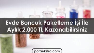 Evde Boncuk Paketleme İşi İle 2.000 TL Kazanabilirsiniz