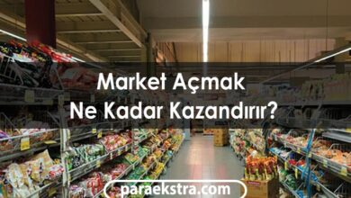 Market Açmak