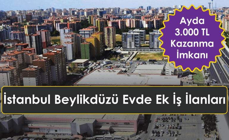 İstanbul Beylikdüzü Evde Ek İş İlanları